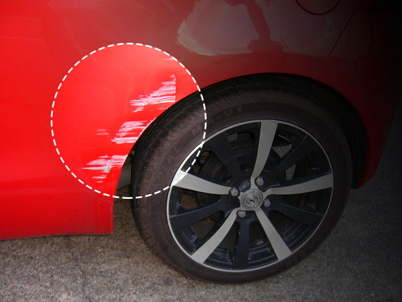 car scratch repair in cheshire