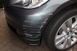bumper scuff repair stockport